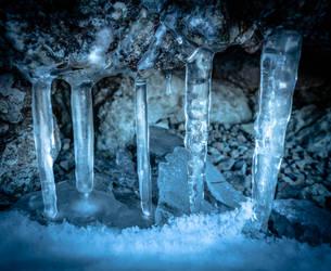 Pillars of ice by McGoe