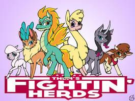 Them's fightin' herds by nekotigerfire