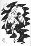 Inktober 3 Creature of the Night