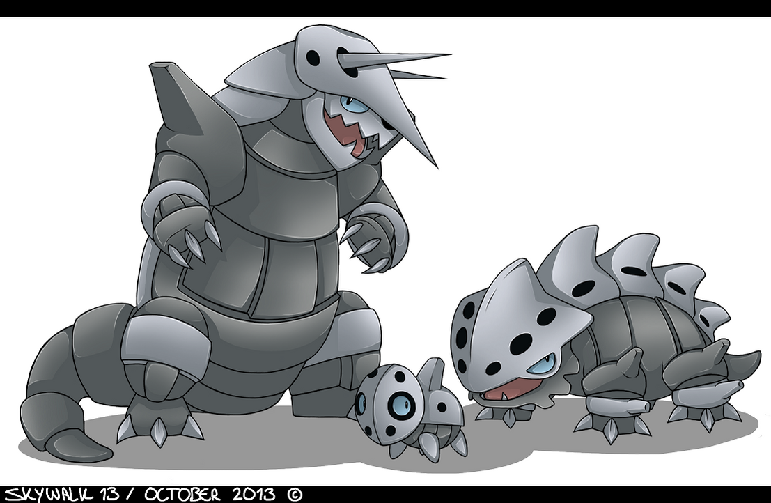 Pokemon Aggron Evolution Images | Pokemon Images