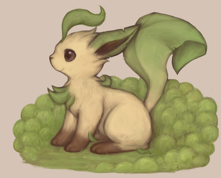 Leafeon by kei05