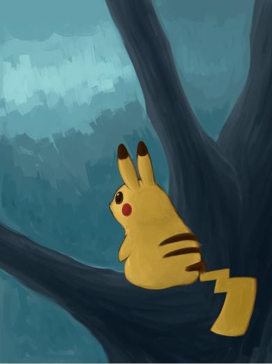 Just awesome Pokémon stuff Pikachu_by_kei05-d7lhytq