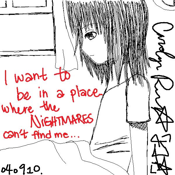No More Nightmares. by ninja-x33