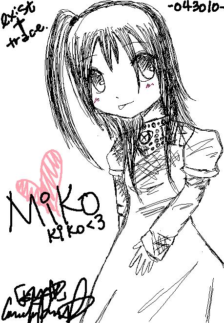 For Mikokiko. by ninja-x33