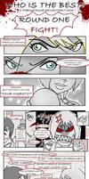DA: Hard fight - Round One by FabiKitsune