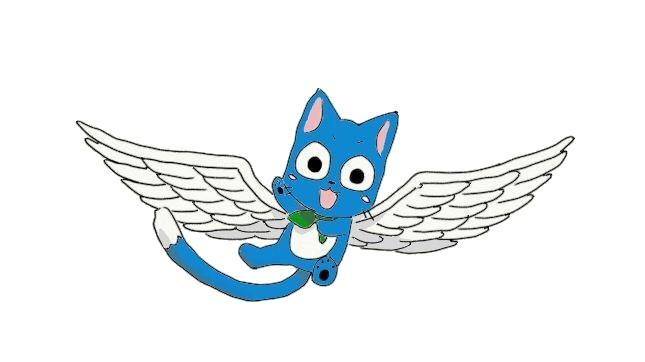 Happy from Fairy Tail by FairyFan94 on DeviantArt