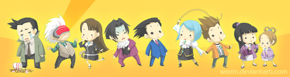 Phoenix Wright Bookmark '09