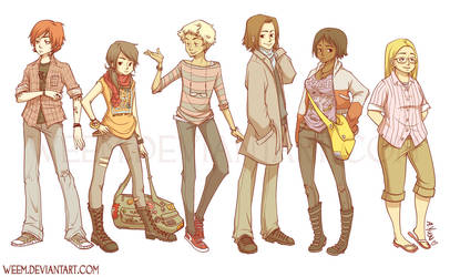 Character Designs 2009