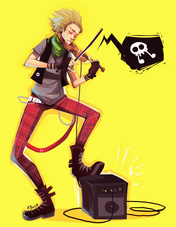 Classic Punk by weem