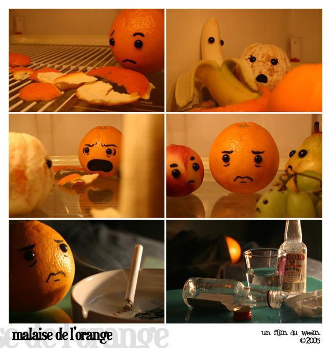 Malaise de L'Orange by weem