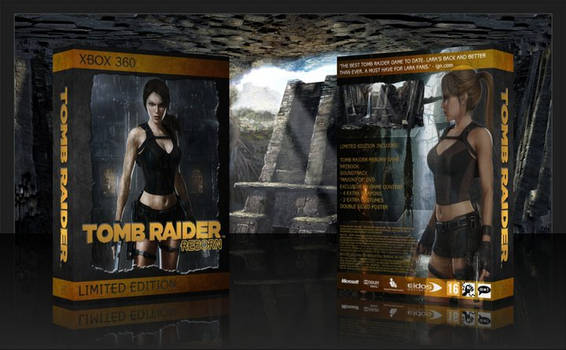 Tomb Raider Reborn 360 Cover