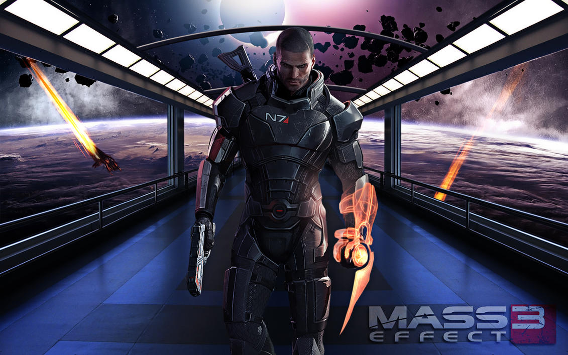 Mass Effect 3 Wallpaper by ToHeavenOrHell