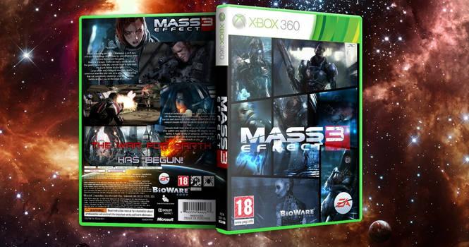 Mass Effect 3 360 Cover