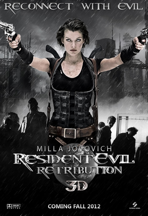 Resident Evil Retribution Poster By Toheavenorhell On Deviantart