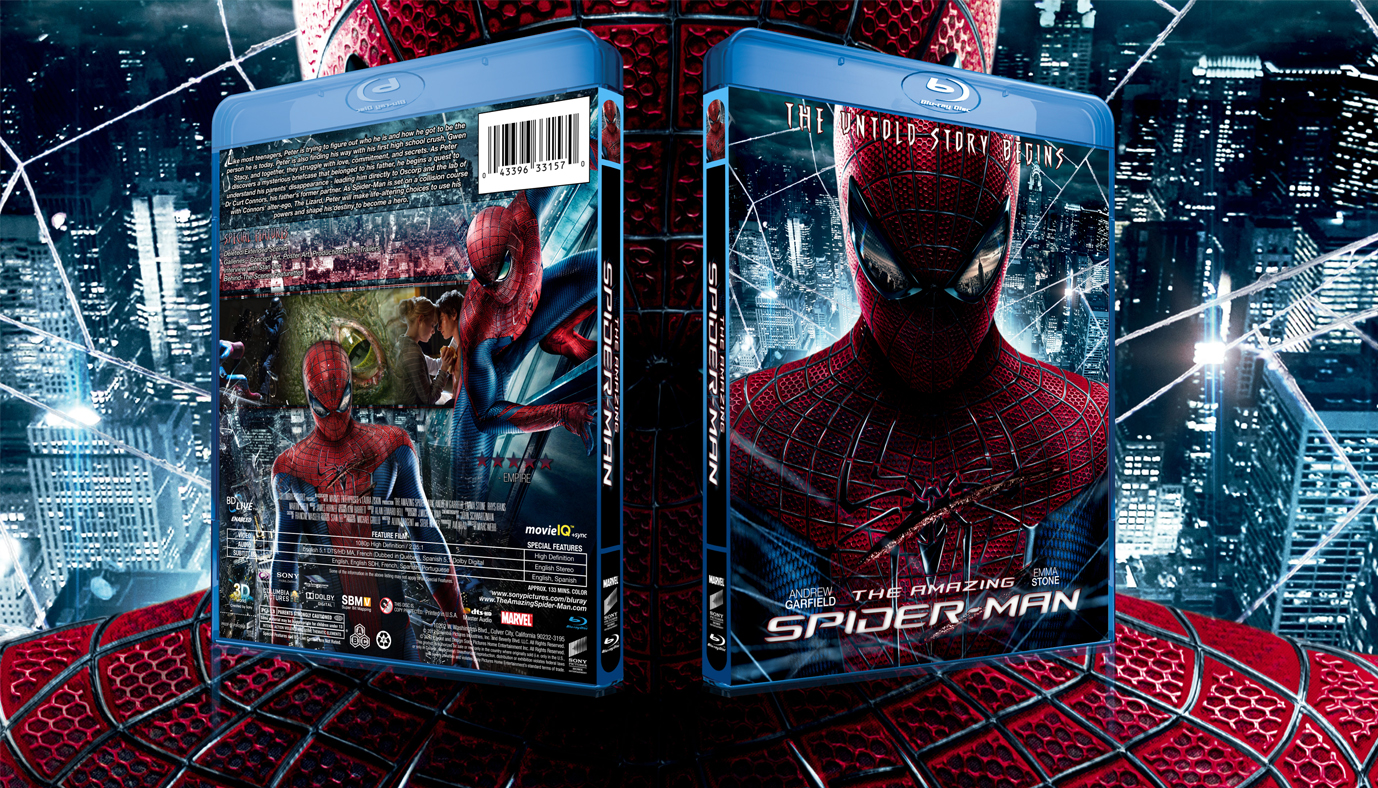 Amazing Spider-Man Blu-ray