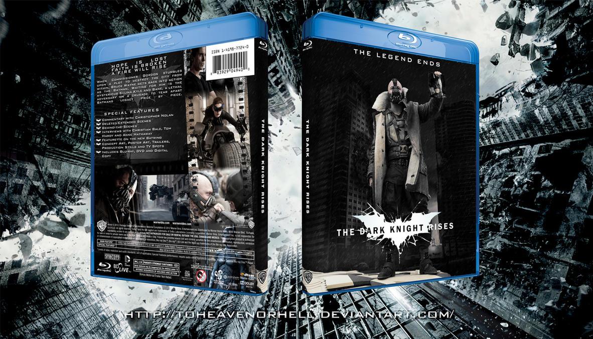 The Dark Knight Rises Blu-ray by ToHeavenOrHell