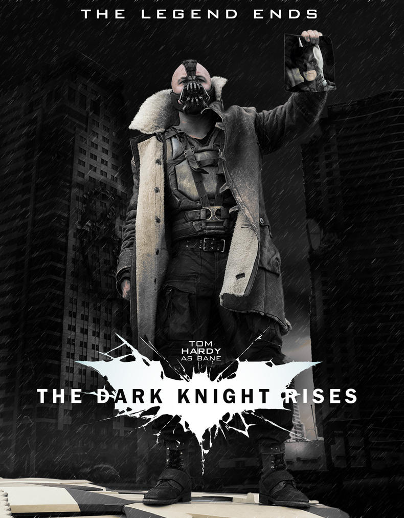 Bane Movie Poster TDKR by ToHeavenOrHell