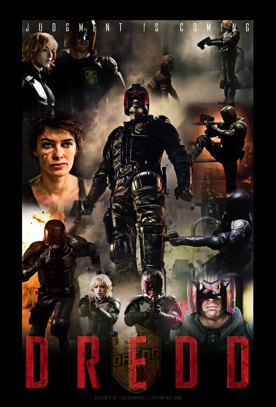 Dredd Movie Poster by ToHeavenOrHell on DeviantArt