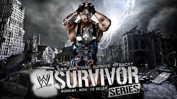 WWE Survivor Series 2012 Wallpaper Ryback