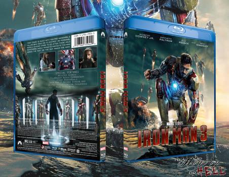 Iron Man 3 Bluray Cover