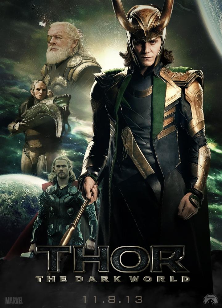 Thor: The Dark World - Loki Poster