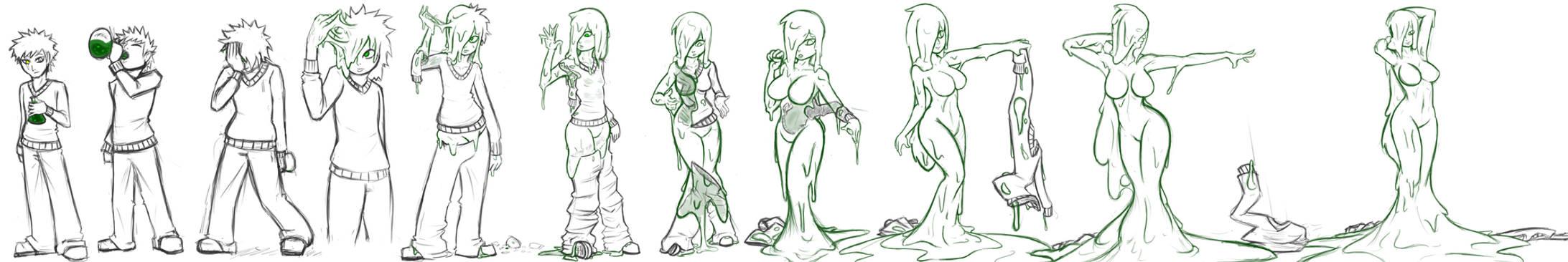 Slime Girl Potion