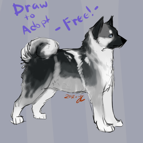 Draw to adopt - closed - by PointAdoptsforyou