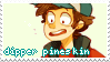 [stamp request] dipper pineskin by amekin