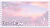 sky aes stamp