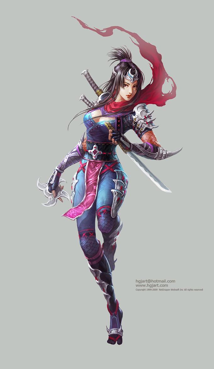 Ninja-1 by hgjart