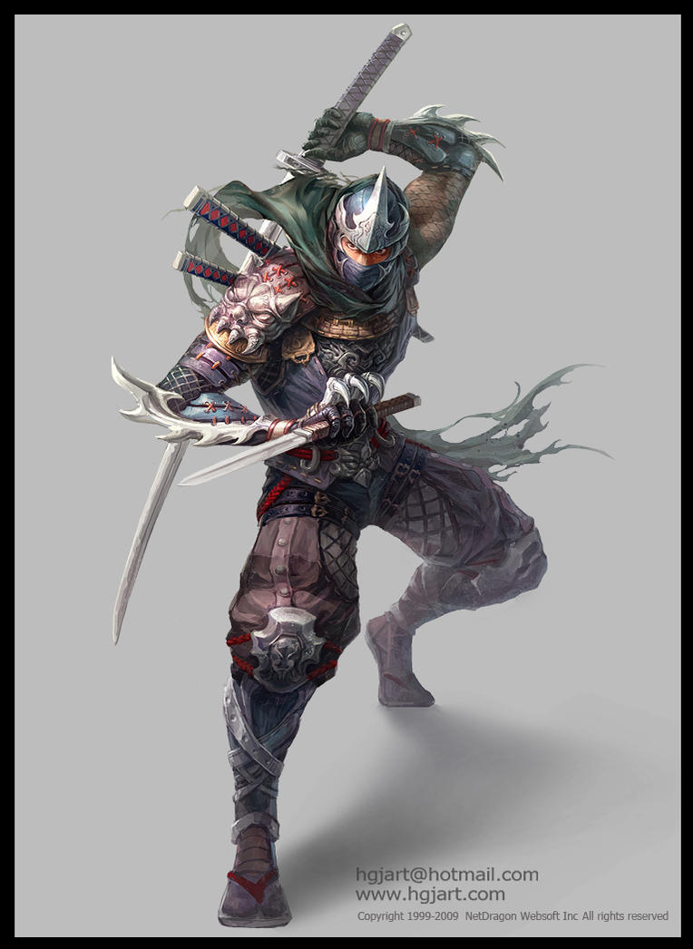 Clan Rikudō Sennin. Ninja_2_by_hgjart