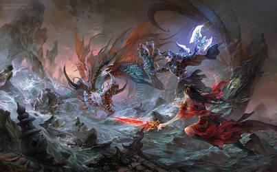 Avatar Dragon by hgjart