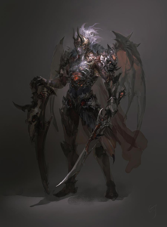 Biochemical Warrior by hgjart