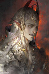 Elf prince,powerful,noble,unruly.