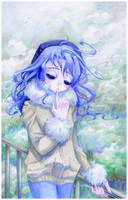 Blank Forest :: Drawmanga Girl by TetraOrb