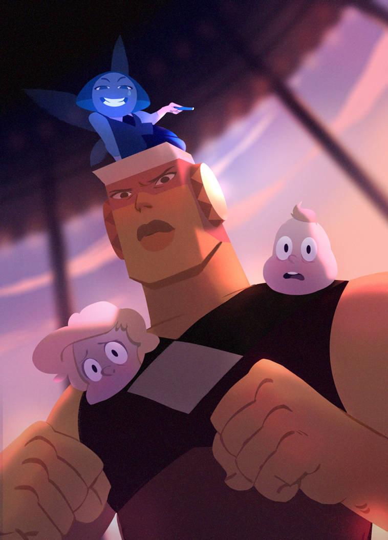 Steven Universe new gems