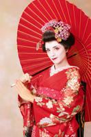 Geisha photoset-close shoot- by Mary-cosplay
