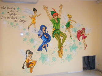Murales all'Asilo by Mary-cosplay