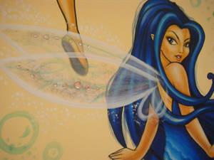 Argentea with crystals