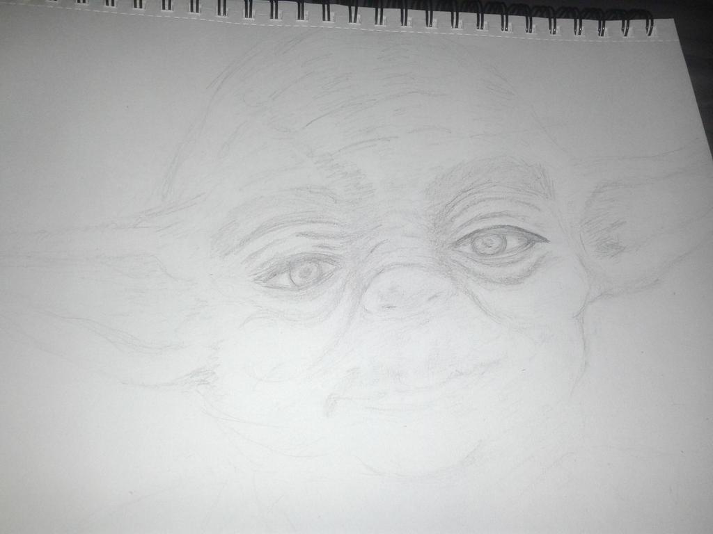 In progress Yoda by jadedatmidnight