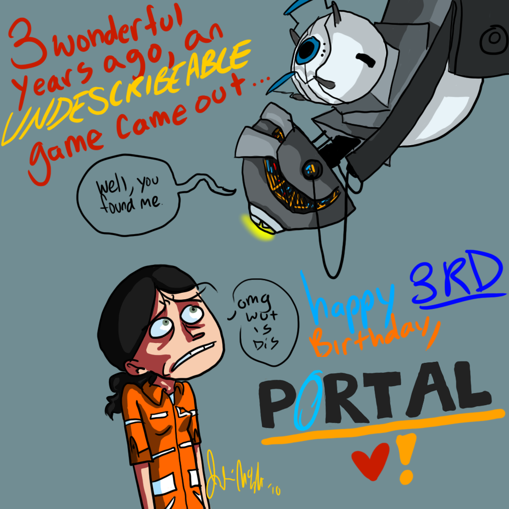 Happy Birthday PORTAL by WolfShadow77 on DeviantArt – Tf2 Birthday Card