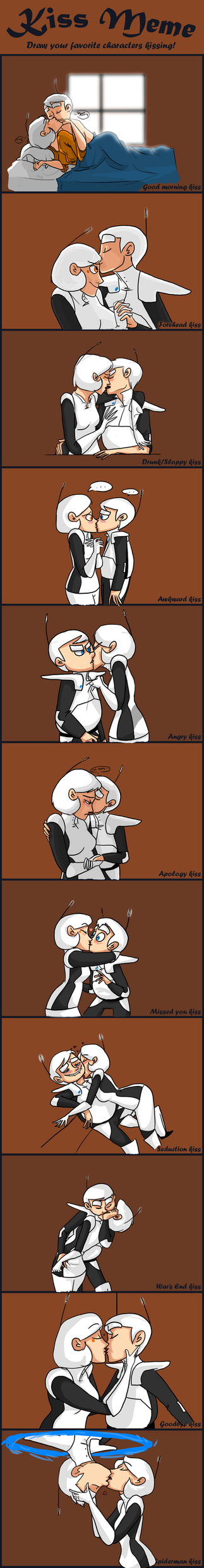 Kissing Meme by Wolf-Shadow77