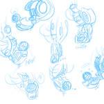 Quick WheatDOS doodles