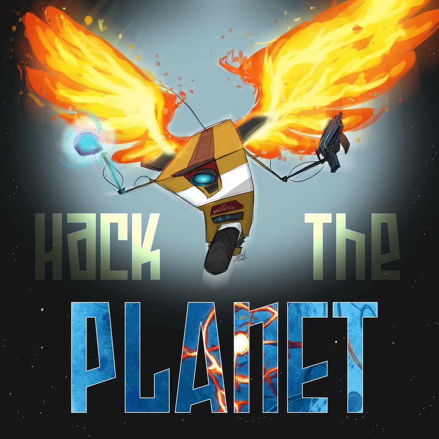 HACK THE PLANET by Wolf-Shadow77