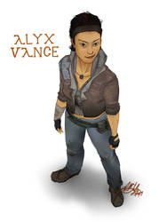 Alyx Vance by Wolf-Shadow77