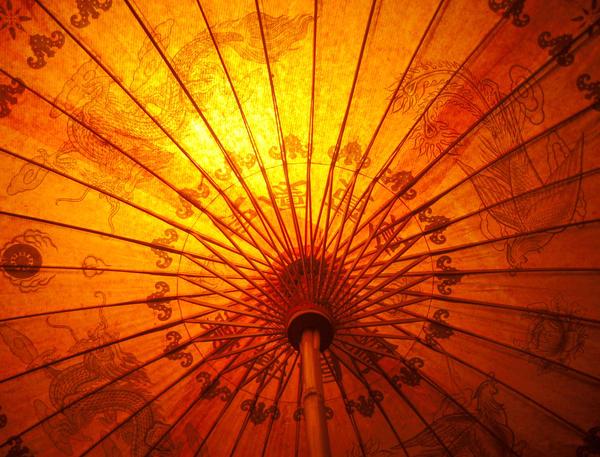 Paper Umbrella by Apri1-stock