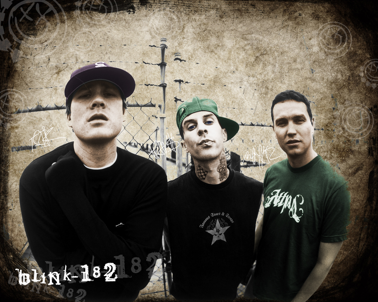 blink 182 wallpaper by operation182