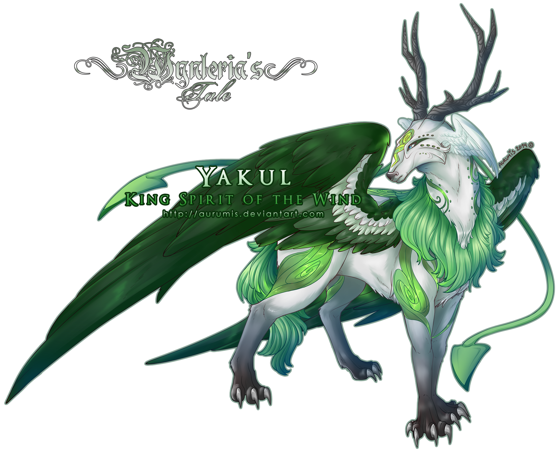 WynTa: Yakul - King Spirit of the Wind by Aurumis