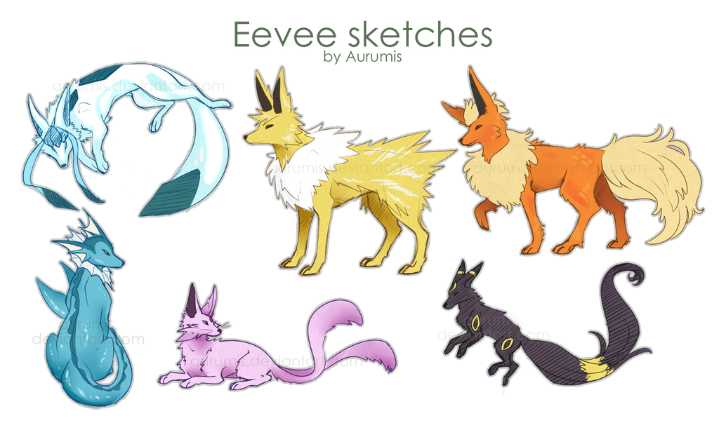 Image Result For Eevee Evolution Pokemon