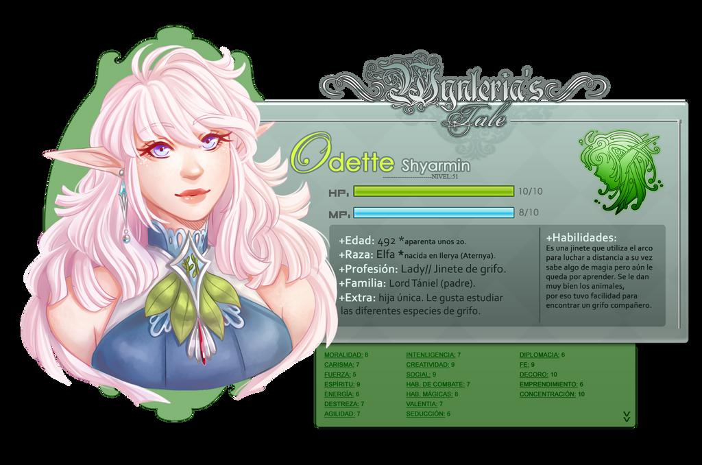 WynTa NPC: Odette by Aurumis